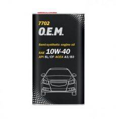 MANNOL O.E.M. for Chevrolet Opel 10W-40