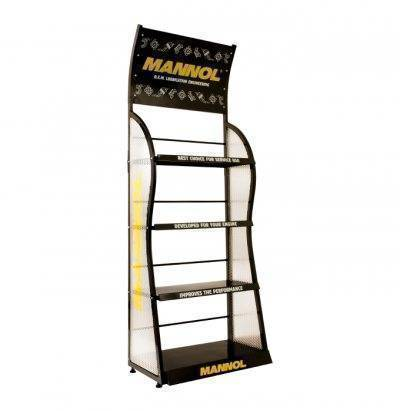 MN1509 Regal MN display shelf 75x200