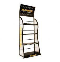Regal MN OEM display shelf 75x200  w. 4 shelves