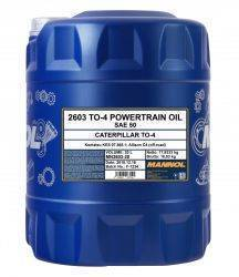 MANNOL TO-4 Powertrain Oil SAE 50