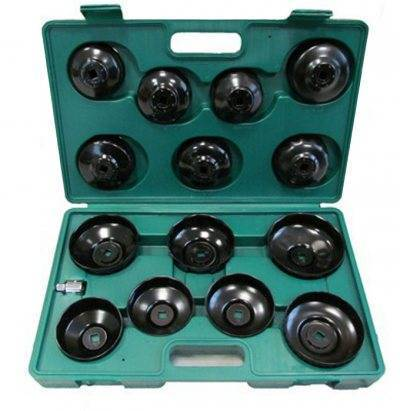 Oil filter wrench set (15pc)