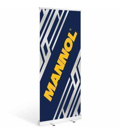 MANNOL Roll Up Banner