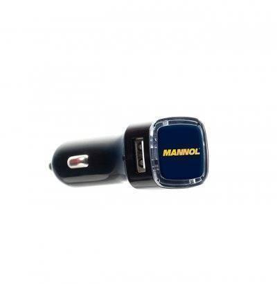 MANNOL USB Car Charger